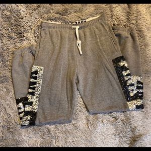 Vs pink bling sweatpants